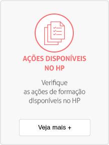 Ações disponíveis no HP